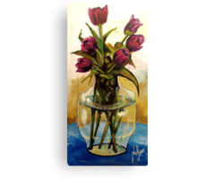 Just Tulips Canvas Print