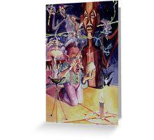 bongo elf Greeting Card