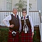 Redlands Sporting Club Pipe Band atWhepstead Manor Open Day by Vanessa Pike-Russell