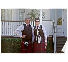 Redlands Sporting Club Pipe Band atWhepstead Manor Open Day Poster