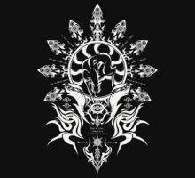 Hakumen Crest by BondofBlood