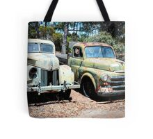 Truck Stop, Tailem Bend, South Australia Tote Bag