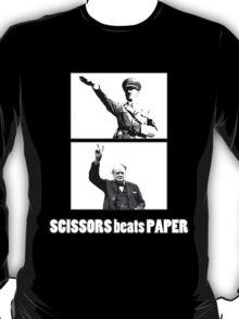 SCISSORS beats PAPER T-Shirt