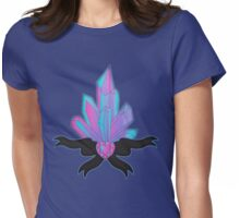 Pretty Crystals Womens Fitted T-Shirt