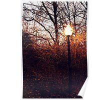 Narnia Lamppost Poster