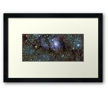 Milky Way outa Space Framed Print