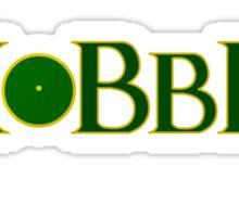 Hobbit Door Sticker