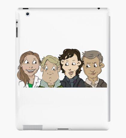 Sherlock group iPad Case/Skin