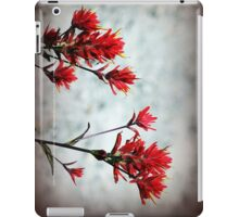 paintbrush wildflowers, Johnston's Ridge 3 iPad Case/Skin