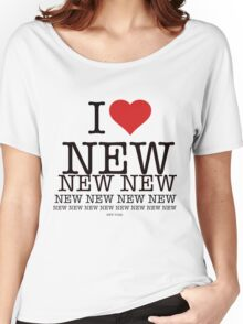 I love New New York Women's Relaxed Fit T-Shirt