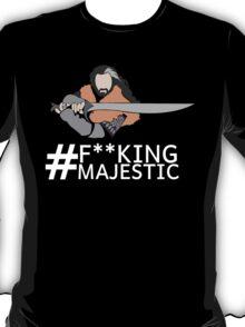 Majestic Thorin Oakenshield- Censored T-Shirt