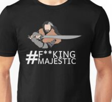 Majestic Thorin Oakenshield- Censored Unisex T-Shirt