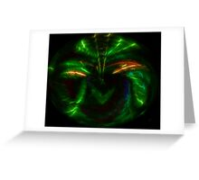 Abstract Insect? Greeting Card