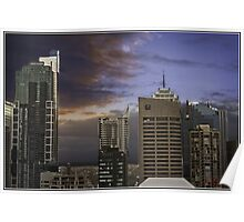 City Scape Sydney (Kings Cross)/NSW/Australia Poster