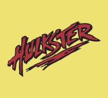 HULK HOGAN - HULKSTER LOGO T-shirt by fanboydesigns