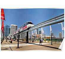 Sydney Monorail Poster