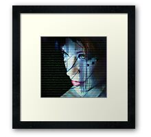 Binary Encoding I Framed Print