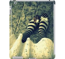 butterfly shoes iPad Case/Skin