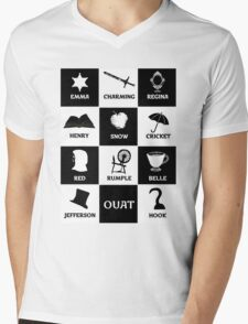 OUAT once upon a time Mens V-Neck T-Shirt