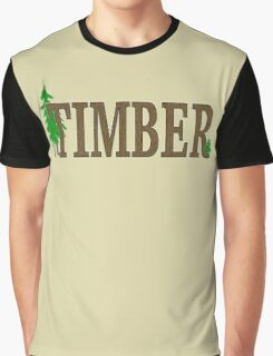 TIMBER Graphic T-Shirt