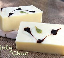 Minty Choc Soap by Kathy Reid