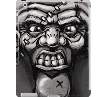 One Angry Face iPad Case/Skin