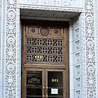 The (Very Ornate) Doorway to the Federal Building by Martha Sherman