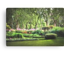 Secret Garden  (GO) Canvas Print
