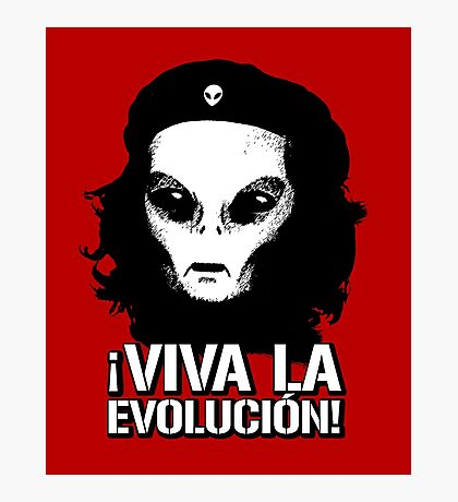 Alien Che Evolution Photographic Print