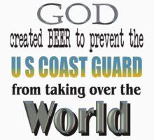 God, Beer & the U. S. Coast Guard Baby Tee