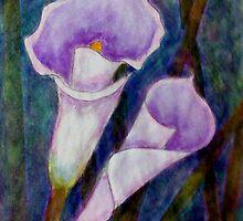 Lilium calas by Madalena Lobao-Tello