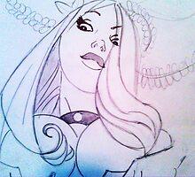 Girl Sketch by brandondraws
