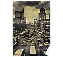 Bangkok Traffic Poster