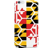 Maryland Flag Shell iPhone Case/Skin