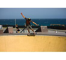 5-0 In The Shallow End - Empire Park Skate Park  Photographic Print