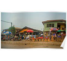 Street Shops  Lagos 1 Poster