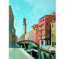 Bridge in Venice Photographic Print