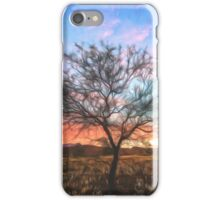 Outback Sunset (GO) iPhone Case/Skin