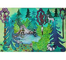 Princess Lucy's Enchanted Forest Photographic Print