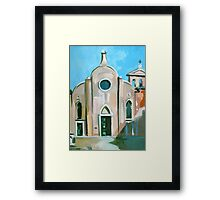 Italian Church Framed Print