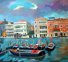 Venice, Italy - Canal Grande (Grand Canal) by Filip Mihail