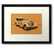 1934 Packard Touring Super Eight w/ID Framed Print