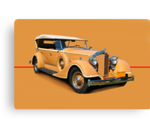 1934 Packard Touring Super Eight w/o ID Canvas Print