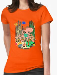 Sealife4 Womens Fitted T-Shirt