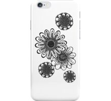 Inked Gerber Daisies iPhone Case/Skin