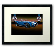 1966 Shelby Cobra 427 w/Badges Framed Print