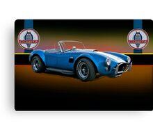 1966 Shelby Cobra 427 w/Badges Canvas Print