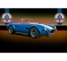 1966 Shelby Cobra 427 w/Badges Photographic Print