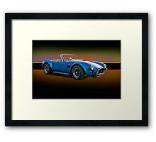 1966 Shelby Cobra 427 w/o Badges Framed Print