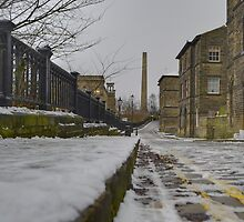 Saltaire Snow by andyj81